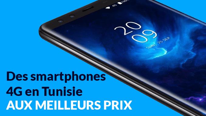 Des smartphones 4G en Tunisie aux meilleurs prix