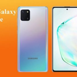 Le Samsung Galaxy Note 10 Lite, un Smartphone moyen de gamme Performant
