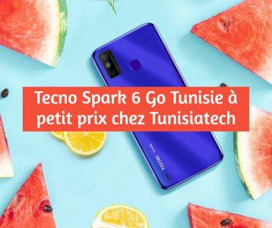 tecno spark 6 go en Tunisie