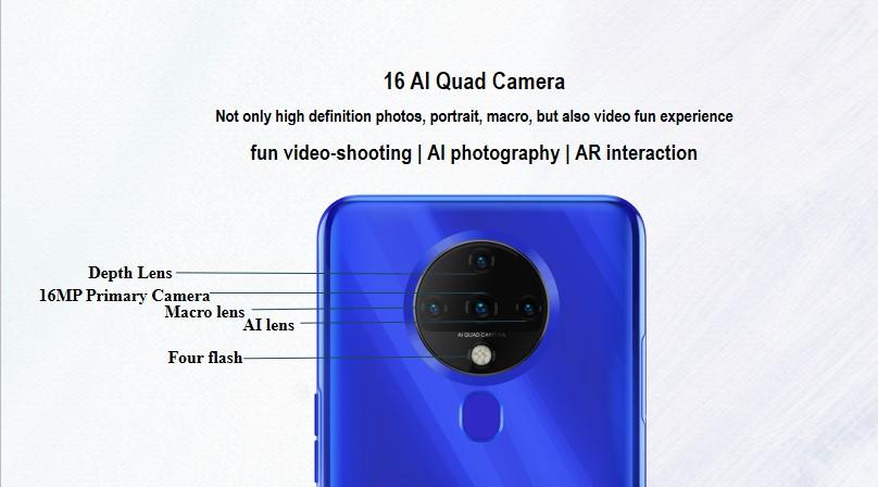 Spark 6 Tunisie camera