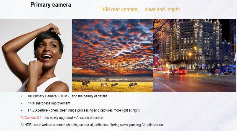Tecno Spark 6 Tunisie camera