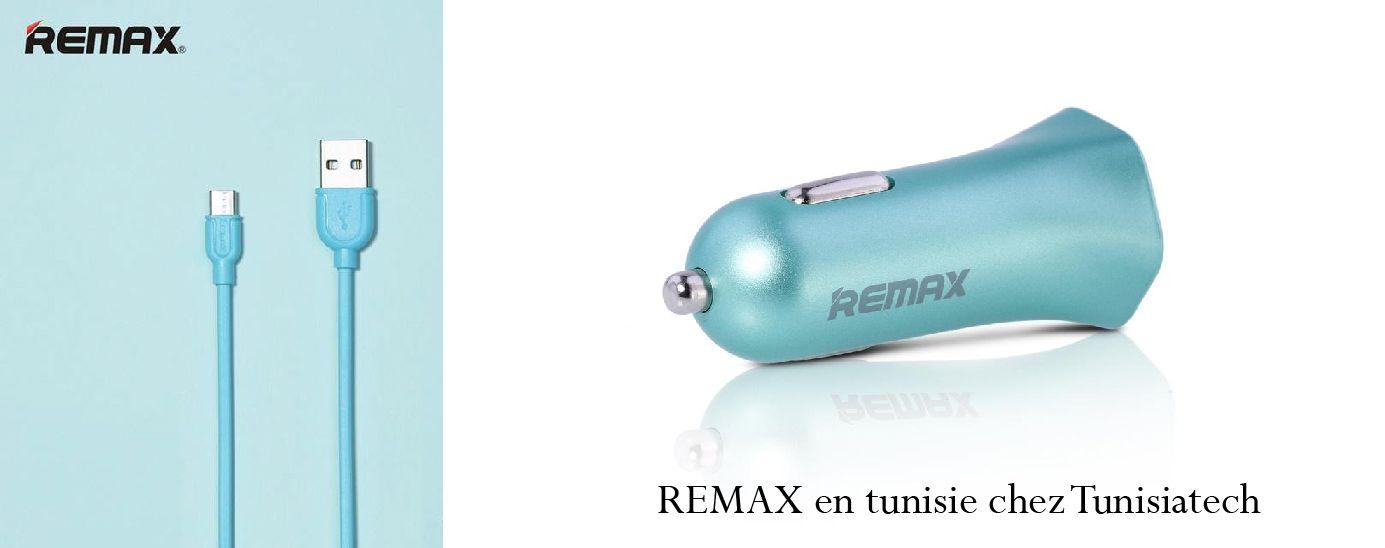 accessoire téléphonie d'origine Remax chez Tunisiatech