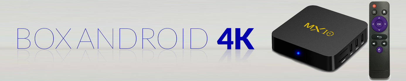 Box Android 4K en Tunisie