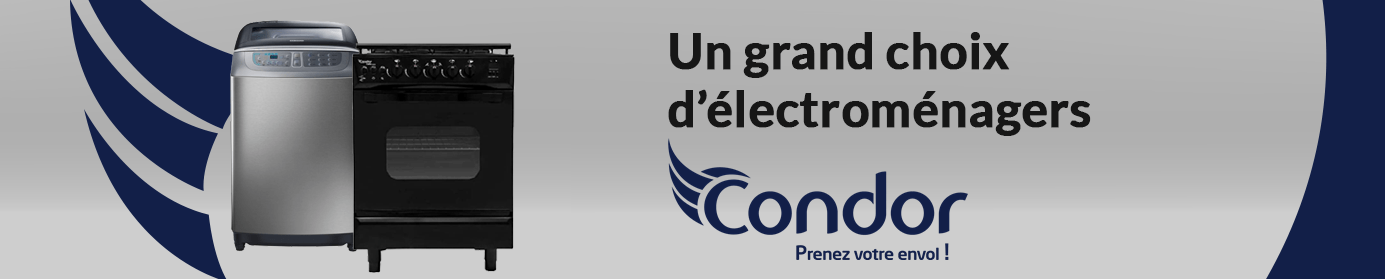 Electromenager condor en Tunisie débarquent chez Tunisiatech