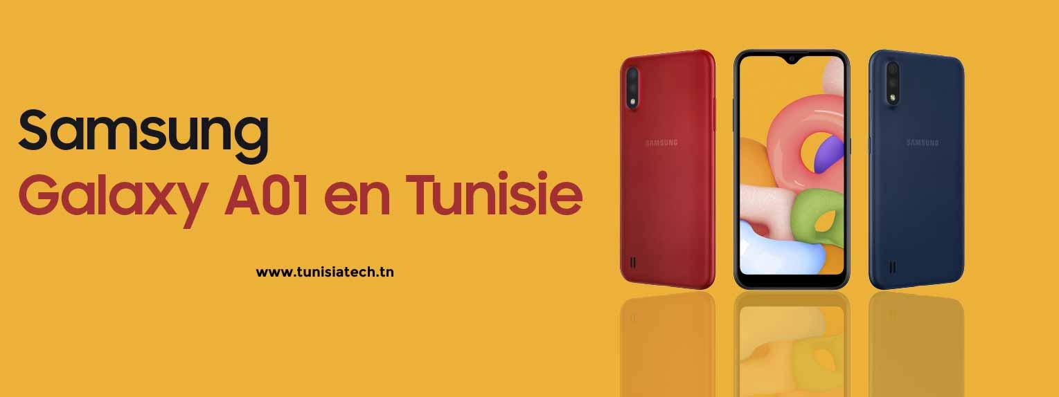 le smartphone le moins cher en tunisie,samsung galaxy A01 en tunisie chez Tunisiatech