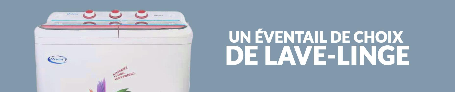 Un grand choix de machines à laver en Tunisie à découvrir chez Tunisiatech